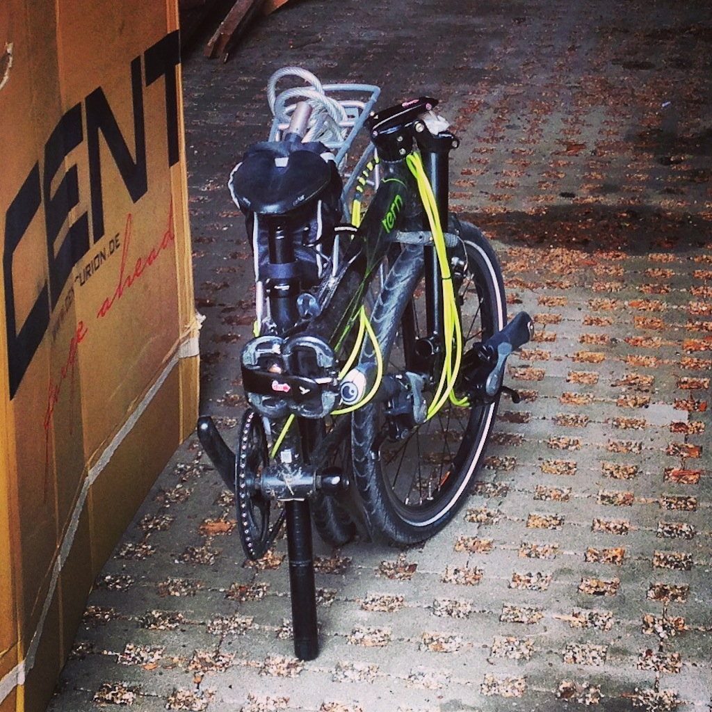Si la ruta que vas a hacer es buena, no dudes en viajar con tu bicicleta plegable.