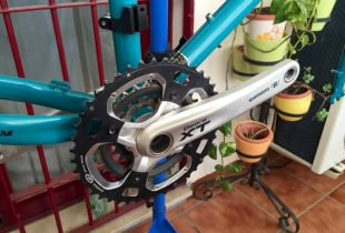 montaje bicicleta surly troll - 17 de 31