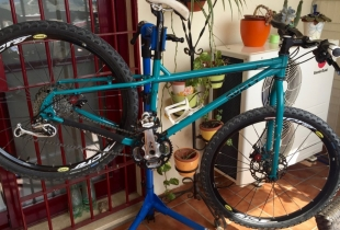 montaje bicicleta surly troll - 30 de 31