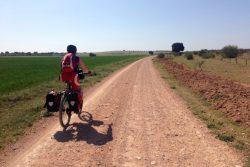 Viajar en bicicleta con apoyo no es viajar