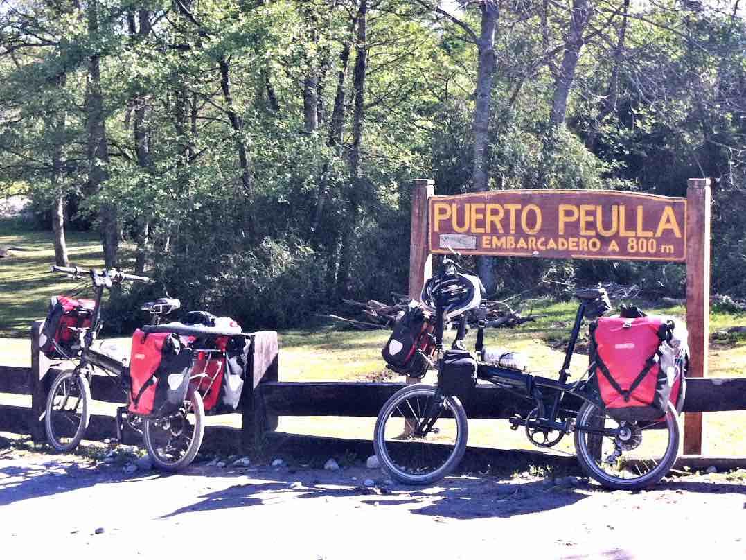 cicloturismo en Patagonia