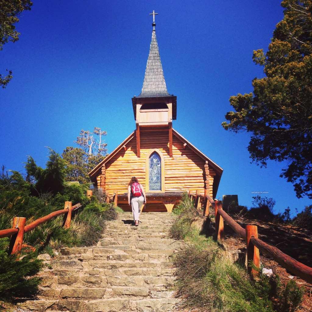 ruta en bicicleta en Bariloche