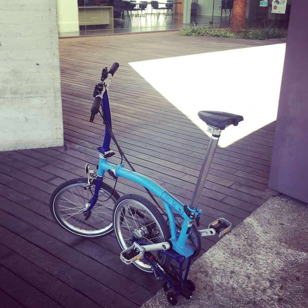 bicicleta plegable para ciudad