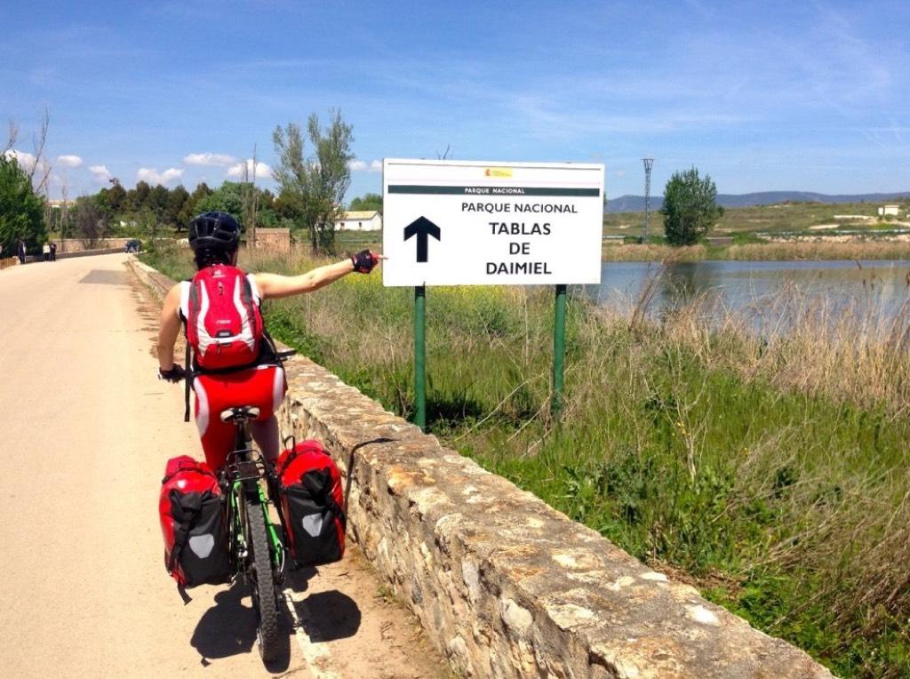 Ruta del Quijote en bicicleta MTB