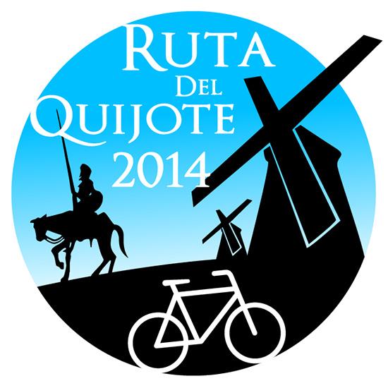 Diseño del parche para la Ruta de Quijote 2014.