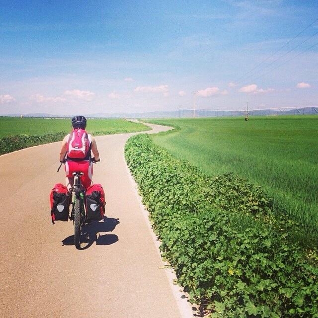 De Manzanares a Malagón, Ruta de Don Quijote en bicicleta