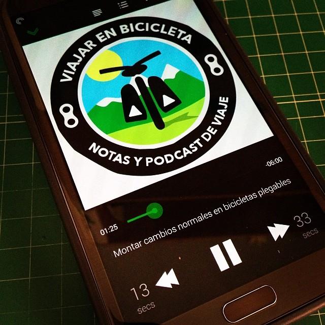 Viajar en bicicleta, Podcast