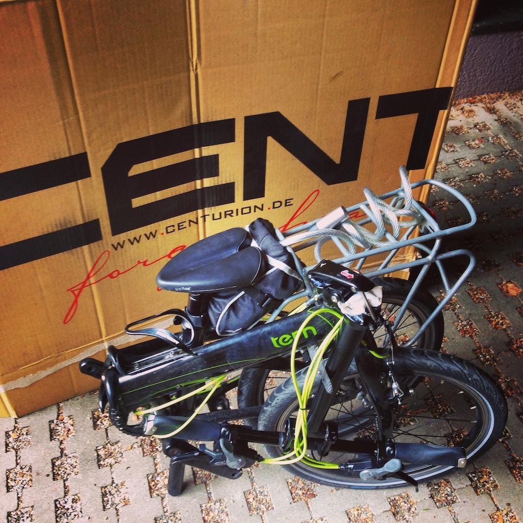 Cómo embalar bicicletas plegables