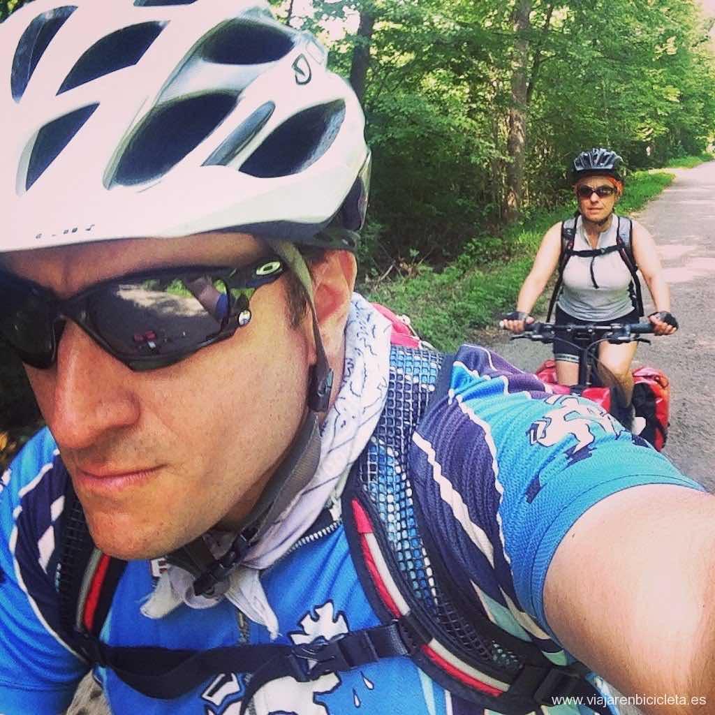viaje en bicicleta por la Ruta Romántica