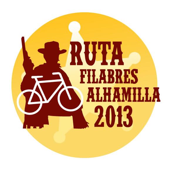 El parche diseñado para la ruta por Almería.