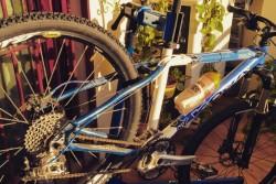 Injertos en una bicicleta
