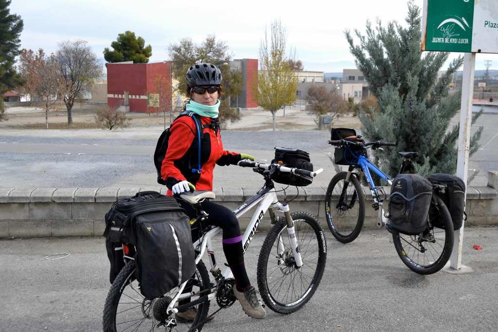 Ruta en bicicleta entre Moraleda de Zafayona y Alhama de Granada