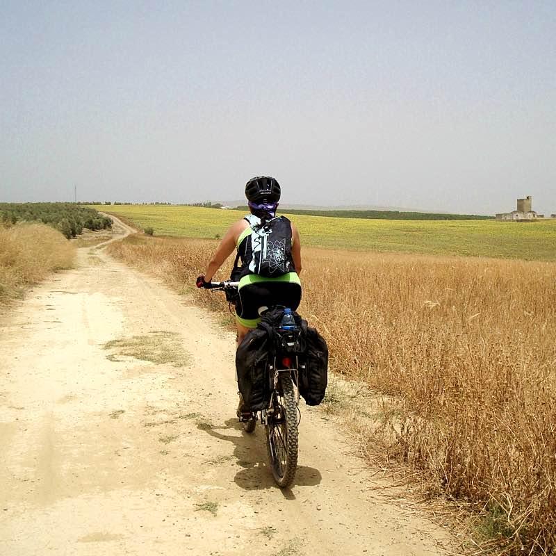 Camino de Guillena, por la Vía de la Plata.