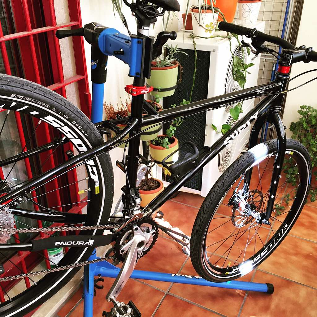 Bicicleta Surly Troll 2015