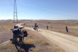 Fotografías del Camino Mozárabe de Santiago en bicicleta