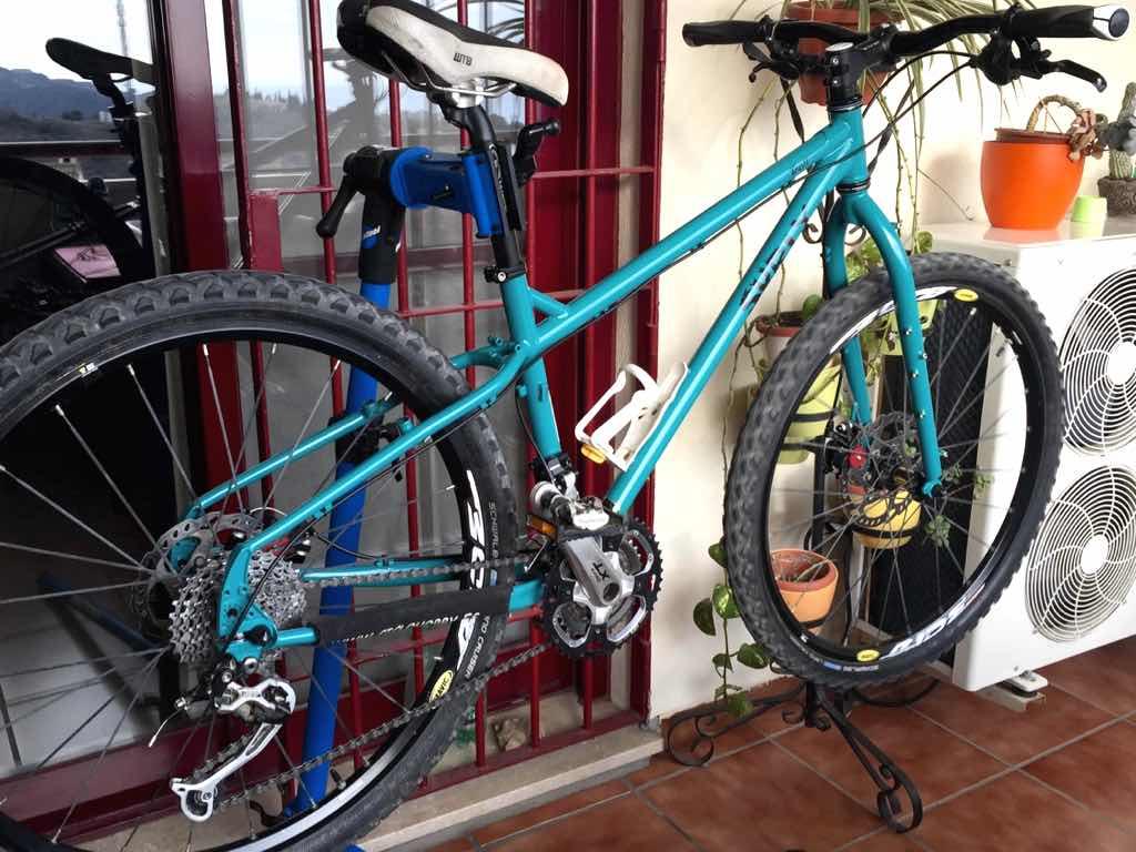 Cómo armar una bicicleta de montaña