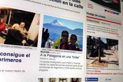 Viaje a la Patagonia en bici plegable