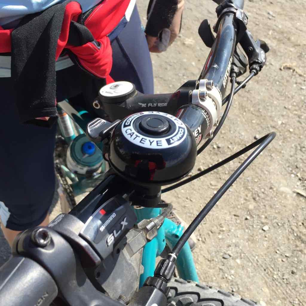 El mejor timbre para bicicleta: Cateye PB-200 Comet Bell