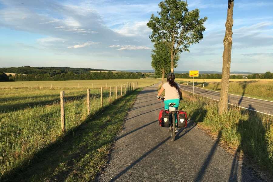 Vuelo de España a Alemania con bicicleta