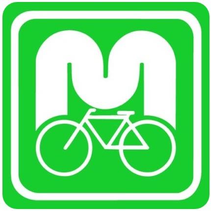 Logo oficial de la ruta en bicicleta por el río Mosela (Mosel-Radweg)