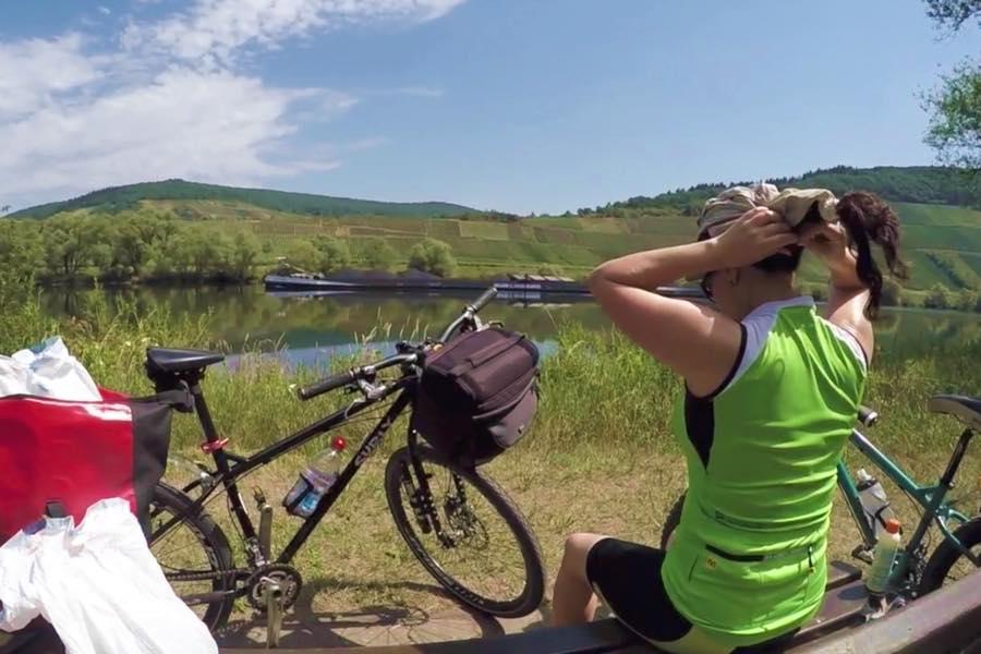 Ruta del Río Mosela en bicicleta