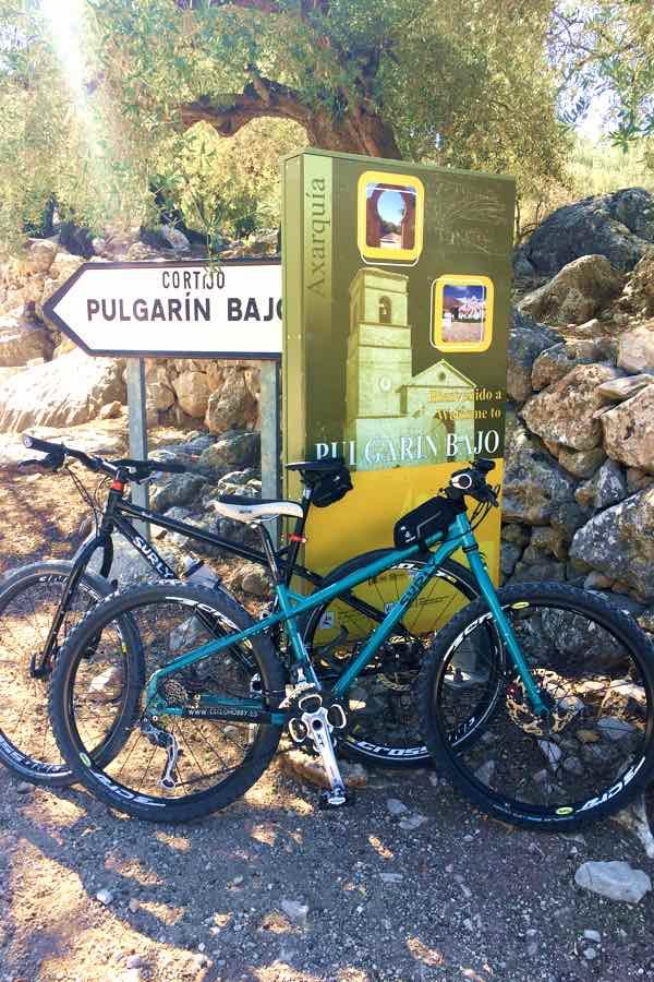 Ruta en bicicleta por Periana, Alfarnatejo y Alfarnate