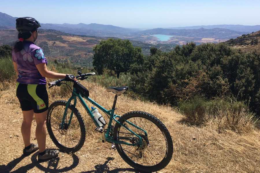 Ruta en bicicleta por Periana