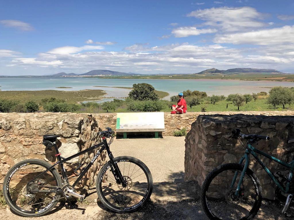 Ruta en bicicleta por la Laguna de Fuente de Piedra