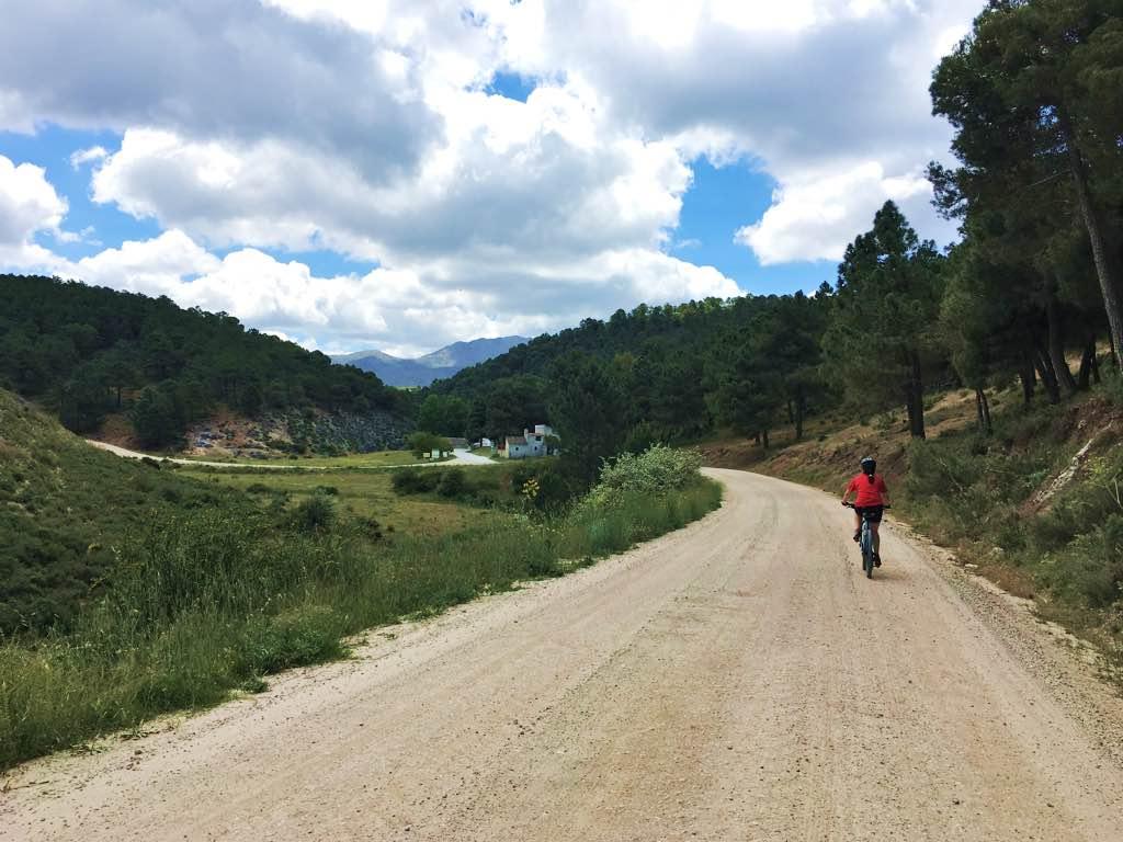 Ruta en bicicleta por Alhama de Granada