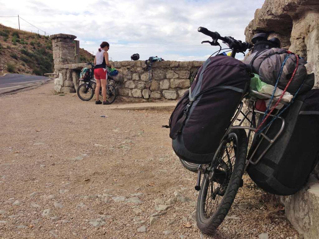 cazorla en bicicleta