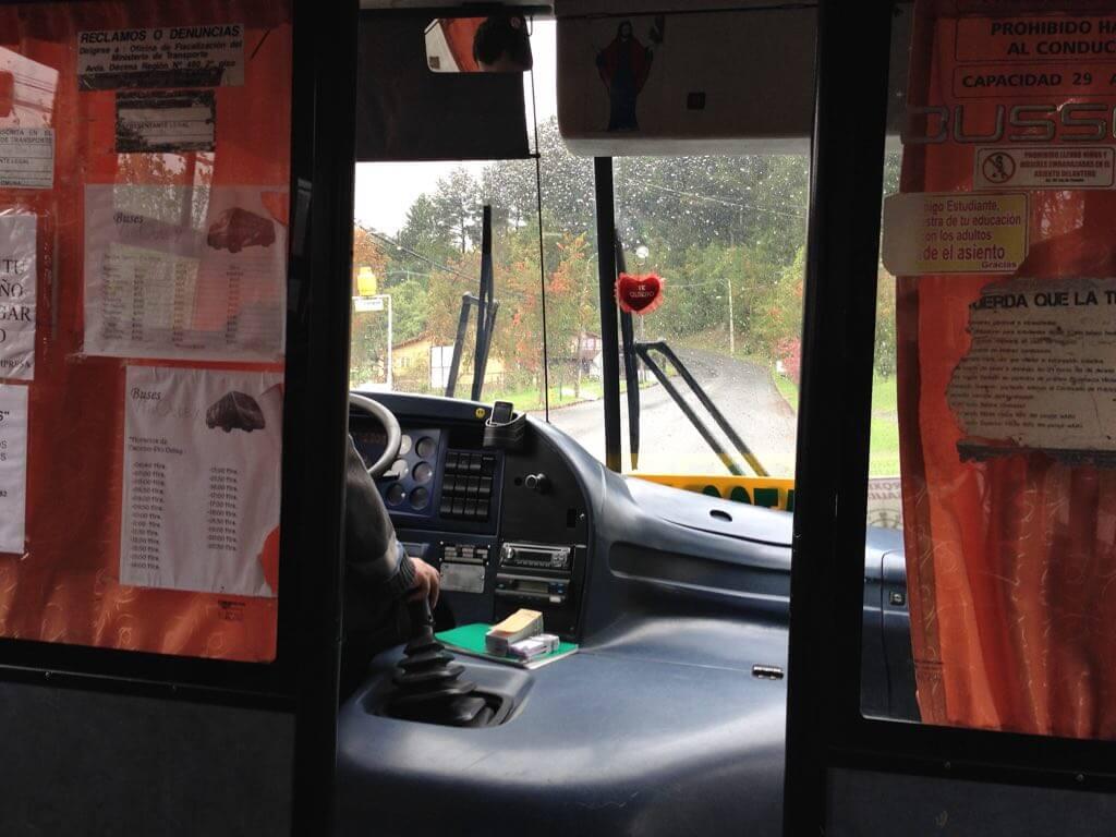 Autobús Puerto Octay