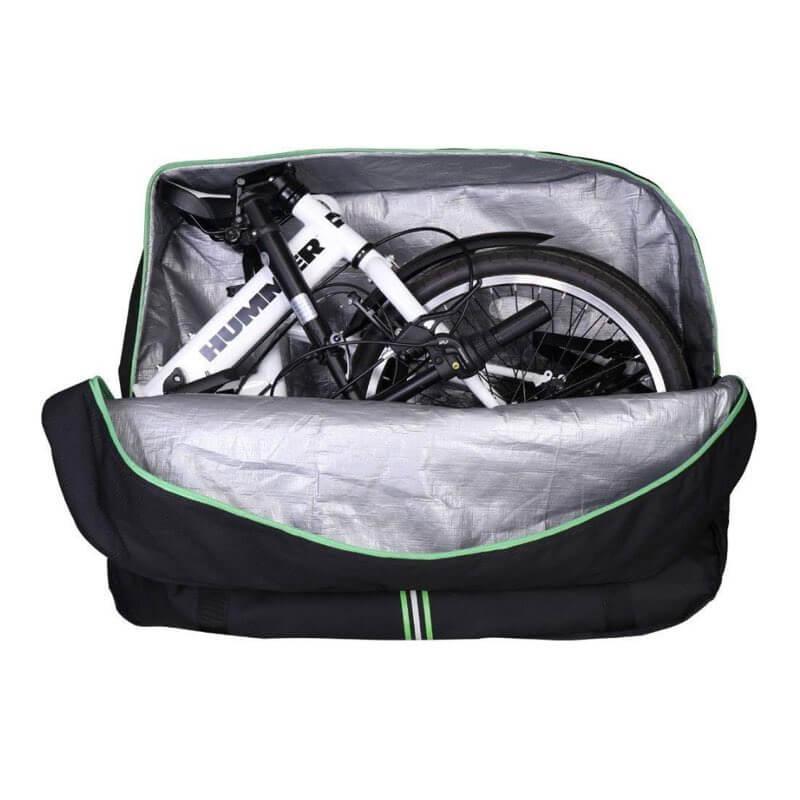 maletas para bicicletas plegables
