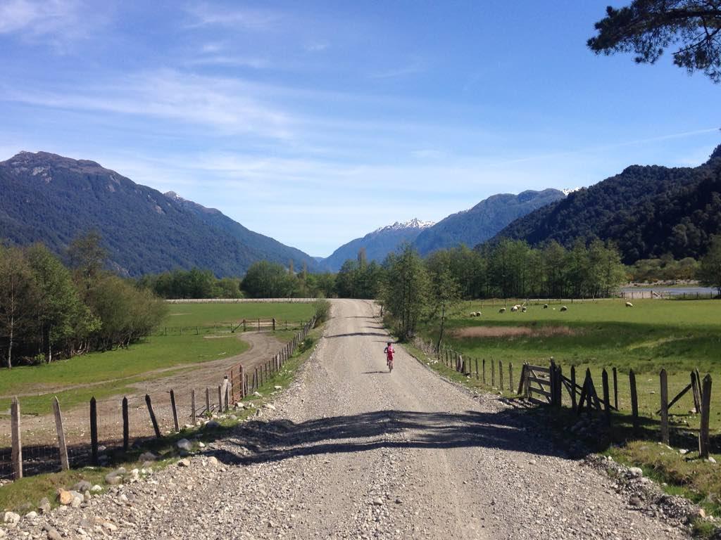 Cruce Andino en bicicleta por Chile