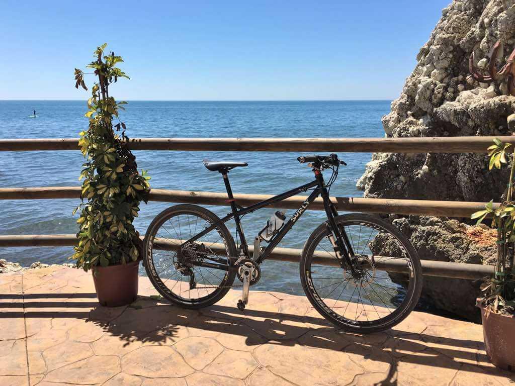 rutas por la costa de málaga