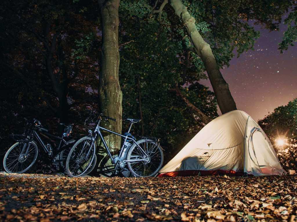 tiendas de campaña para cicloturismo